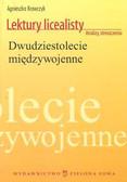 Kochan Agnieszka - Lektury licealisty Dwudziestolecie