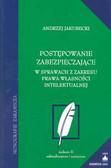 Jakubecki Andrzej - Postępowanie zabezpieczające