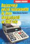 Kosacka-Łędzewicz Dorota - Dostosowanie polityki rachunkowości do zmian obowiązujących od 2002 roku