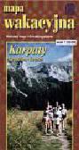 Karpaty-mapa wakacyjna