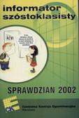 Informator Szóstoklasisty   Sprawdzain 2002