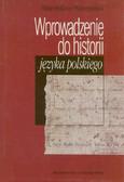 Borawski Stanisław - Wprowadzenie do historii języka polskiego