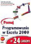 Podlin Sharon - Poznaj programowanie w Excelu 2000 w 24 godziny