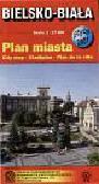Bielsko-Biała - plan miasta