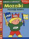 Mozaiki-poznaję kolory 3-4 lata
