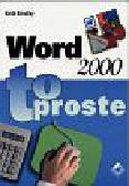 Brindley Keith - Word 2000 to proste