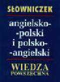 Reszkiewicz Anna i Alfred - Słowniczek angielsko - polski                      polsko - angielski