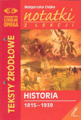 Ciejka Małgorzata - Notatki z lekcji historii cz III