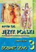 Gis Anita - Zrozumieć słowo 3 Język polski Podręcznik do kształcenia językowego