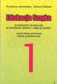 Jankowska Oleksak - Standardy wymagań kl.1 Edukacja Smyka