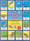 Zarańska-Jackowska Joanna - At the ZOO Memory angielskie słówka Edukacyjna gra obrazkowa dla dzieci od lat 7