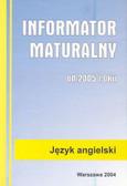 Informator maturalny angielski 2005