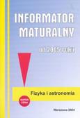 Informator maturalny fizyka 2005 /mały/