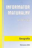 Informator maturalny geografia 2005