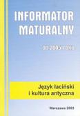 Informator maturalny łacina i kultura 2005