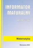 Informator maturalny matematyka 2005