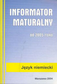 Informator maturalny niemiecki 2005