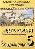 Grajewska Katarzyna, Wower Ewa - Oglądam świat 5 Język polski Podręcznik do kształcenia językowego. Szkoła podstawowa