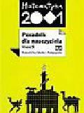 Praca zbiorowa - Matematyka 2001. Poradnik dla nauczyciela klasa 5