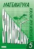 Praca zbiorowa - Matematyka krok po kroku 5. Sprawdziany