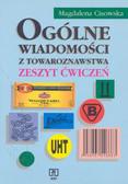 Cisowska Magdalena - Ogólne wiadomości z towarznwstw. Zeszyt ćwiczeń.