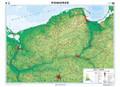 Pomorze. Mapa regionalna ogólnogeog/krajobr