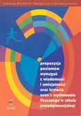Kosiba Grażyna, Madejski Eligiusz - Propozycja poziomów wymagań z wiadomości i umiejętności oraz kryteria ocen z wychowania fizycznego w szkole ponadgimnazjalnej