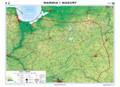 Warmia i Mazury. Mapa reg ogólnogeogr/krajobr