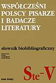 Praca zbiorowa pod redakcją Jadwigi Czachowskiej i Alicji Szałagan - Współcześni polscy pisarze i badacze literatury, tom 8