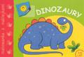 Dinozaury - malowanka z naklejkami