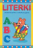 Praca zbiorowa - Literki-Malowanka edukacyjna
