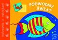 Podwodny świat  -  malowanka z naklejkami