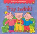 Michalec Bogusław - Trzy świnki - Bajki do kolorowania