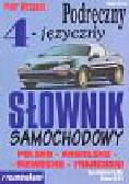 Wrzosek Piotr - Podręczny cztero języczny słownik samochodowy