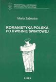 Zabłocka Maria - Romanistyka pol. po II Wojnie 073/02