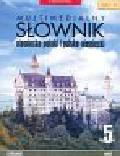 Multimedialny Słownik niemiecko-polski, polsko-niemiecki (Płyta CD)