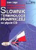 Ożga Ewa - Słownik terminologii prawniczej  polsko-angielski, angielsko-polski