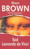 Brown Dan - Kod Leonarda da Vinci /czerwona/