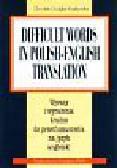 Douglas-Kozłowska Christian - Difficult Words in Polish-English Translation