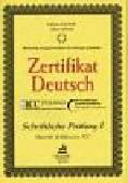 Kuciński Łukasz, Sitarek Adam - Zertifikat Deutsch -Schriftliche Prufang 1
