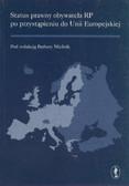 Barbara Mielnik - Status prawny obywatela RP po przystąpieniu do Unii Europejskiej. Konferencja - Opolnica, 13-15 maja 2004