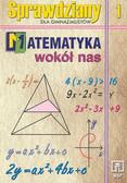 praca zbiorowa - Matematyka wokół nas kl 1 sprawdziany