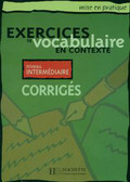 Exercises vocabulaire Odpowiedzi średniozaaw.
