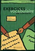 Exercises vocabulaire Podr.ucznia początkujący