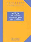 Rediger un resume Podręcznik ucznia