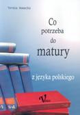 Nowacka Teresa - Co potrzeba do matury z języka polskiego
