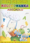 Praca zbiorowa - Uczę się pisać kolorowanka Abecadło