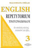 Cieślak Małgorzata - English 3 Repetytorium temat.Leksykon
