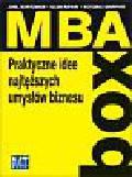 Kurtzmann Joel, Rifkin Glenn, Griffith Victoria - MBA BOX