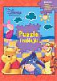 Disney - Kubuś Puchatek Puzzle i naklejki